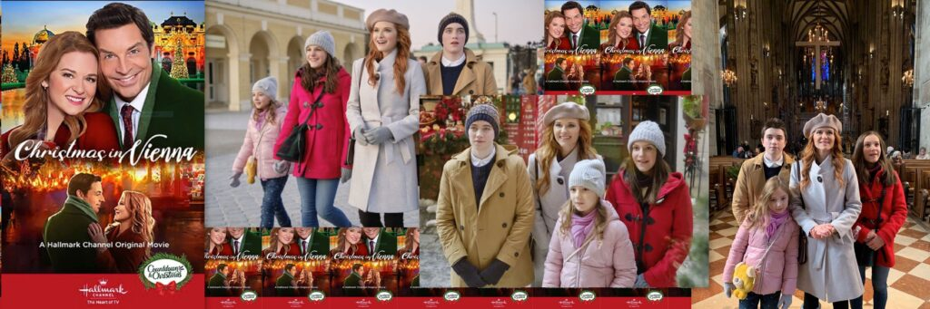 Allegra Tinnefeld - Christmas in Vienna - Hallmark - Sarah Drew