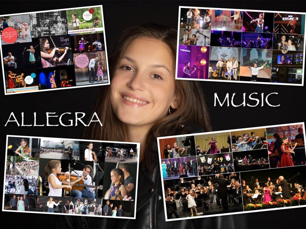 Allegra Sängerin Geigerin